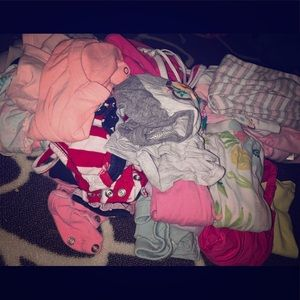 lots of baby girl clothes 👶💓